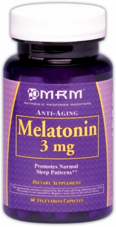 Melatonin 3 mg MRM (60 вегетарианских капсул)