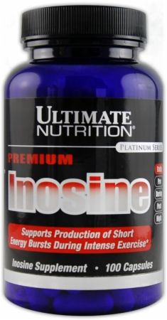 Inosine 500 mg Premium Ultimate Nutrition (100 кап)