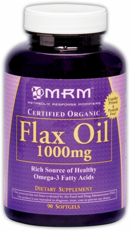 Flax Oil 1000 mg MRM (90 кап)