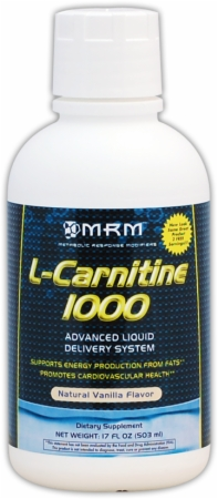 L-Carnitine Liquid 1000 mg MRM (503 мл)