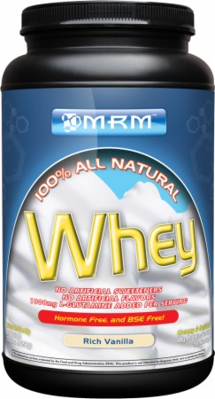 100% All Natural Whey MRM (917-923 гр)