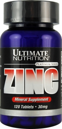 Zinc Ultimate Nutrition (120 таб)
