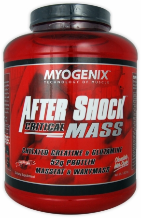 After Shock Critical Mass Myogenix (2550 гр)