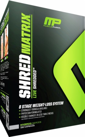 Shred Matrix MusclePharm (120 кап)