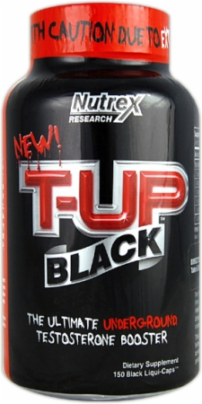 T-Up Black Nutrex (150 cap)