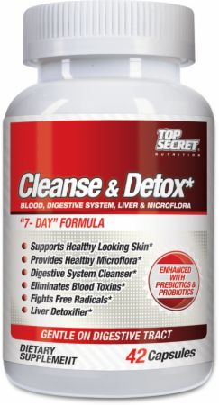 Cleanse & Detox Top Secret Nutrition (42 cap)