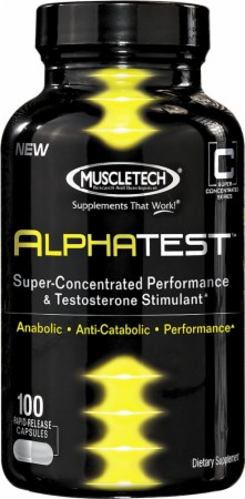 AlphaTest Muscle Tech (100+12 cap)