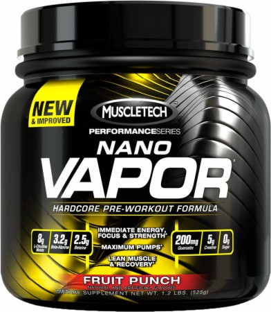 naNO Vapor Performance Series MuscleTech (474-528 gr)