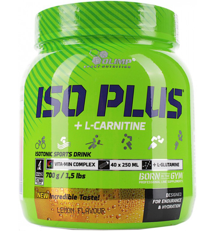 ISO PLUS POWDER + L-CARNITINE Olimp (700 gr)