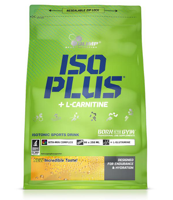 ISO PLUS POWDER + L-CARNITINE Olimp (1505 гр)