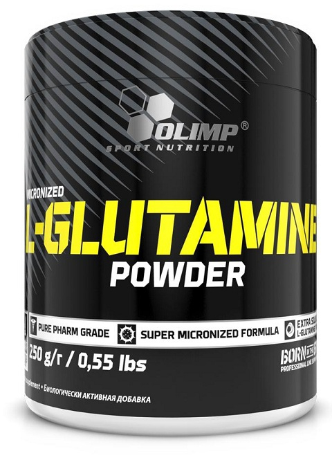 L-GLUTAMINE POWDER Olimp (250 гр)