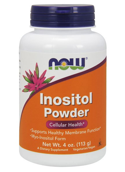 Inositol Powder Vegetarian NOW 4 oz (113 гр)