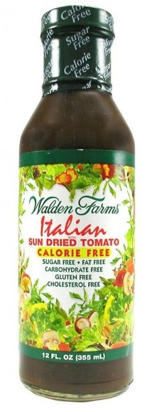 Italian Dressing with Sun Dri Walden Farms (355 ml)