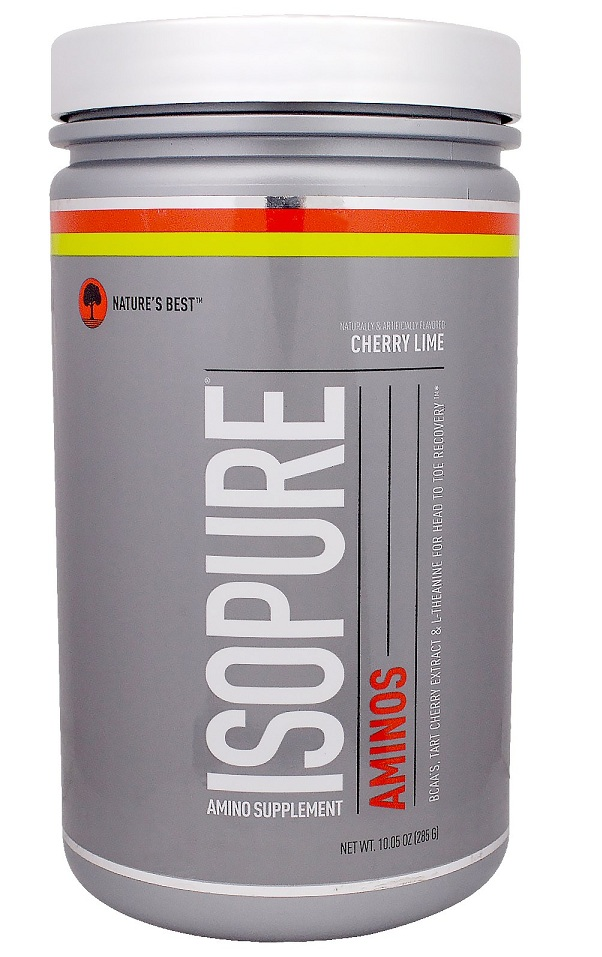IsoPure Aminos Nature's Best (285 гр)(годен до 06/2018)