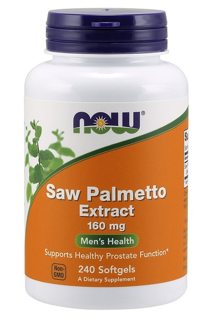 Saw Palmetto Extract 160 mg NOW (240 Softgels)