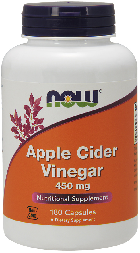 Apple Cider Vinegar 450 mg NOW (180 cap)