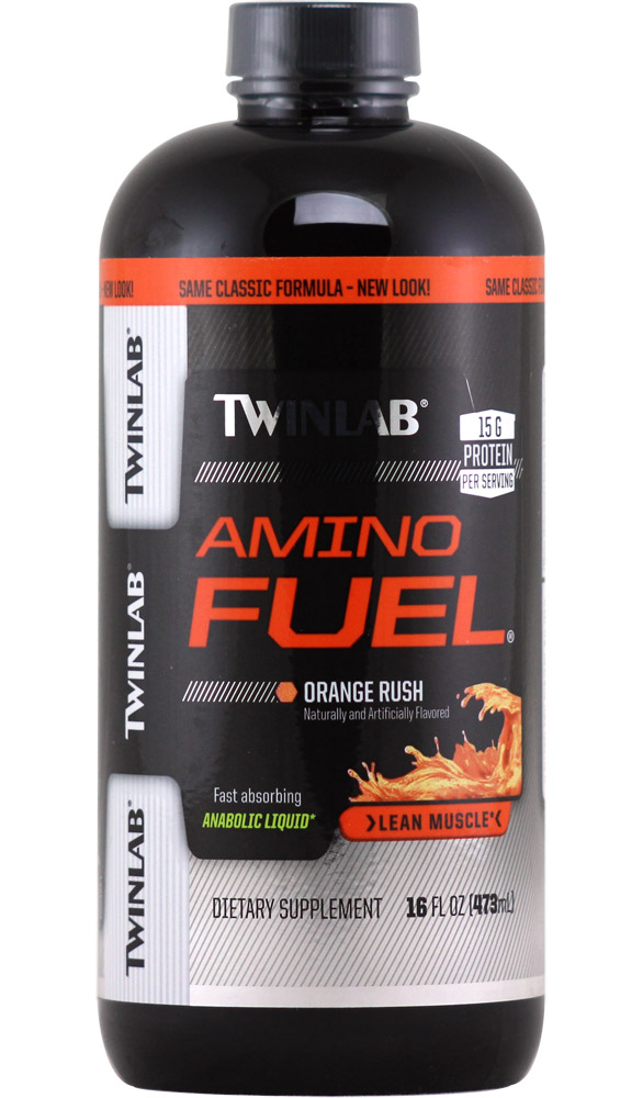 Amino Fuel Liquid Original Twinlab (473 ml)