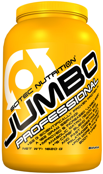 JUMBO PROFESSIONAL SCITEC NUTRITION (1620 gr)(EXP 01/2019)