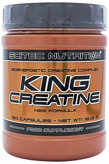 KING CREATINE SCITEC NUTRITION (120 кап)(годен до 09/2018)