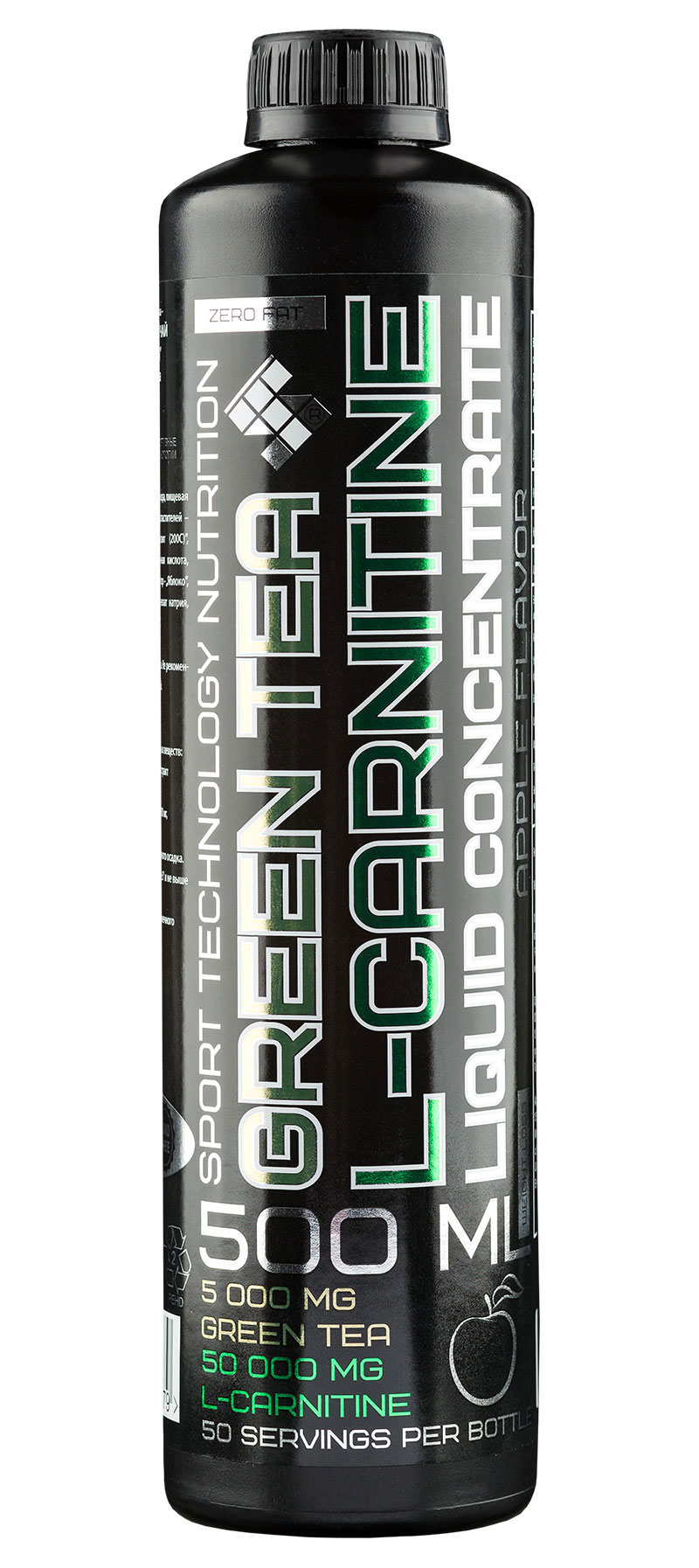L-Carnitine + Green Tea Liquid ST (500 мл)