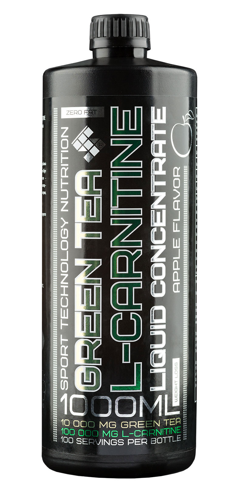 L-Carnitine + Green Tea Liquid ST (1000 ml)