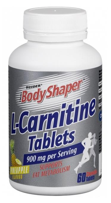 L-Carnitine Tablets Weider (60 таб)(годен до 09/2018)