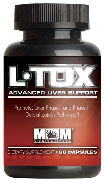 L-TOX Advanced Liver Support Max Muscle (60 кап)