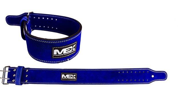 Пояс MEX POWER-L MUSCLE EXCELLENCE (на пряжке, 2 штыря, 10 мм)