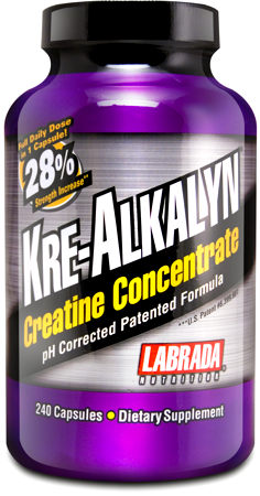 Kre-Alkalyn Labrada Nutrition (240 кап)