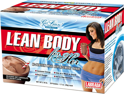 Lean Body For Her Labrada Nutrition (20 x 49 gr)