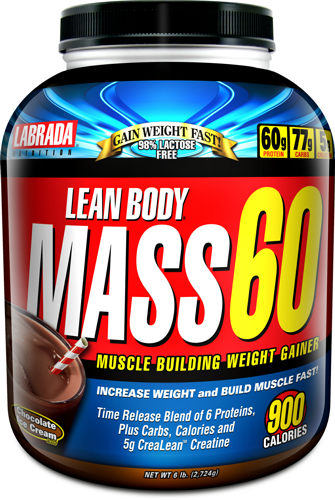 Lean Body Mass 60 Gainer Labrada Nutrition (2724 гр)
