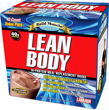 Lean Body MRP Labrada Nutrition (42 пак по 79 гр)