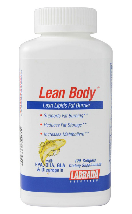 Lean Body Lipids Fat Burne Labrada Nutrition (120 Softgel)(EXP 1