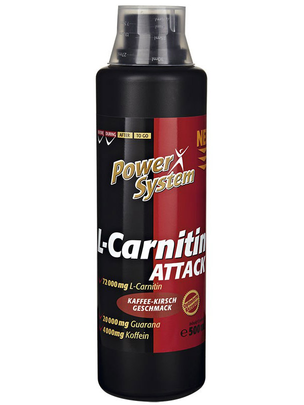 L-Carnitin Attack 144000 Power System (1000 мл)