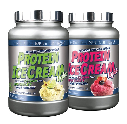 PROTEIN ICE CREAM LIGHT SCITEC NUTRITION (1250 гр)(EXP 12/2019)
