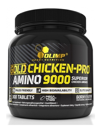 Gold Chicken Pro Amino 9000 Mega Tabs Olimp (300 таб)
