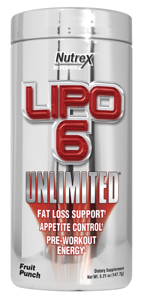 Lipo-6 Unlimited Powder (150 гр)(годен до 10/2016)