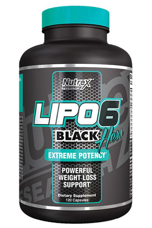 LIPO-6 BLACK HERS INTERNATIONAL (120 cap)