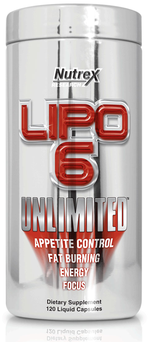 LIPO-6 Unlimited (120 cap)