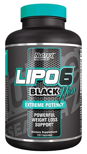 LIPO-6 BLACK HERS REVISED NEW (120 cap)