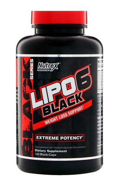 LIPO-6 BLACK NEW EU (120 cap)