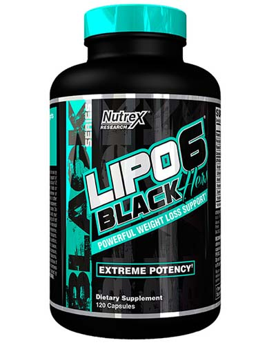 LIPO-6 BLACK HERS REVISED NEW US(120 cap)