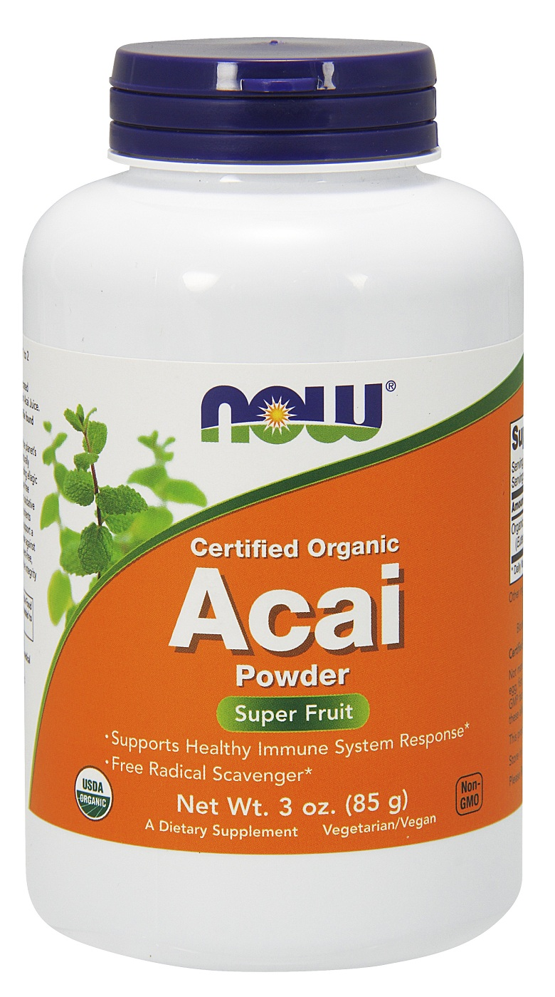 Acai Powder NOW (85 гр)