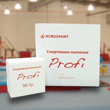 Магнезия (GymChalk) Profi Acrosport Россия (1 кубик)