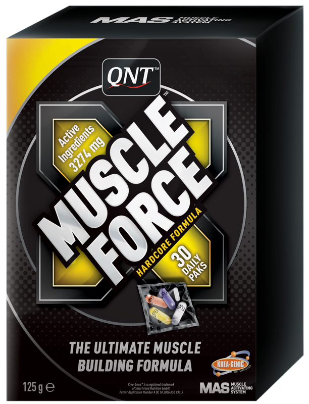Muscle Force QNT (30 пакетиков по 5 капсул)(годен до 01/2017)