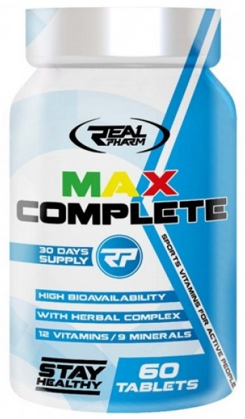 Max Complete Real Pharm (60 tab)(EXP 06/2021)