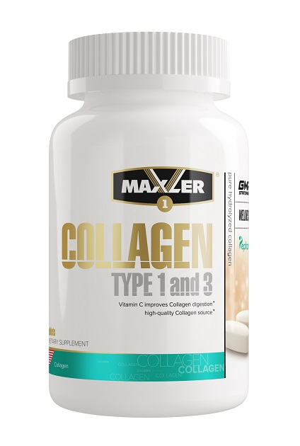 Collagen Type 1 and 3 Maxler (90 таб)