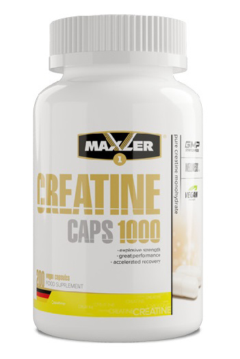 Creatine Caps 1000 Maxler (200 cap)