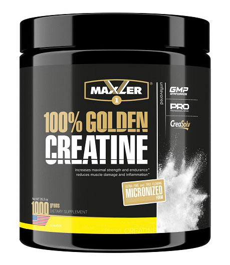 100% Golden Creatine Maxler (1000 g)