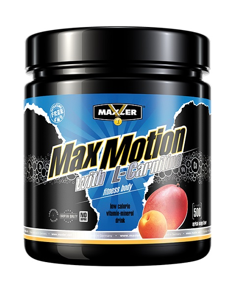 Max Motion with L-Carnitine Maxler (500 гр)